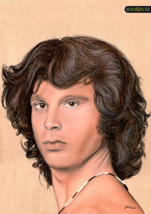 Jim Morrison por RUSSO